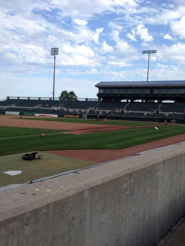 Principal Park, section: C, row: 1, seat: 19