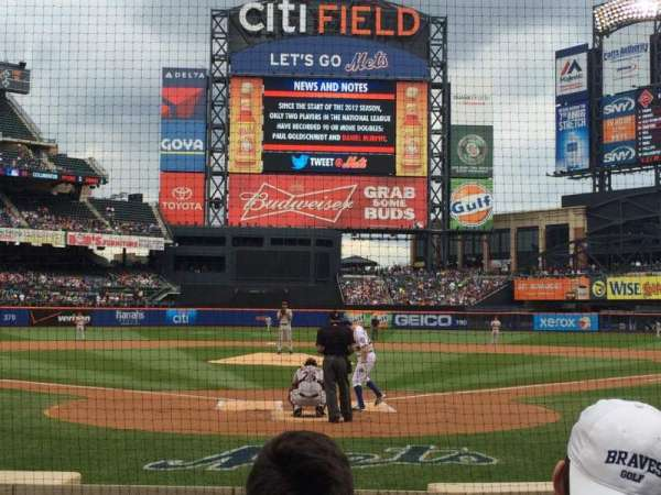 Citi Field, section: 15, row: 5, seat: 5