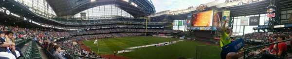 Miller Park, section: 207, row: 2, seat: 18