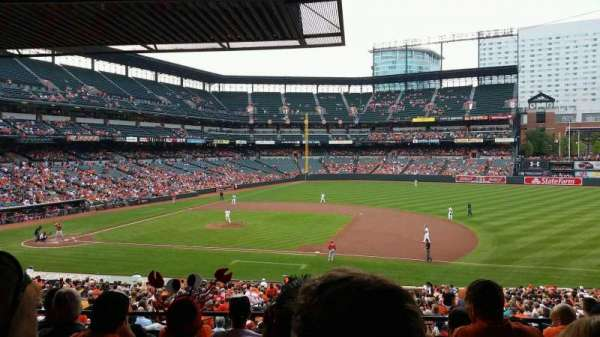 Oriole Park At Camden Yards, section: 17, row: 6, seat: 14