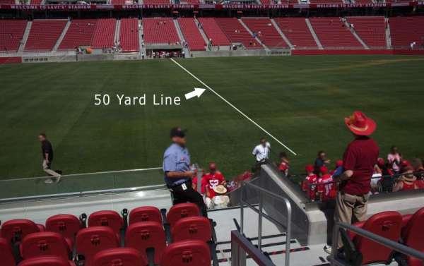 Levi's Stadium, section: C139, row: 10, seat: 1-6