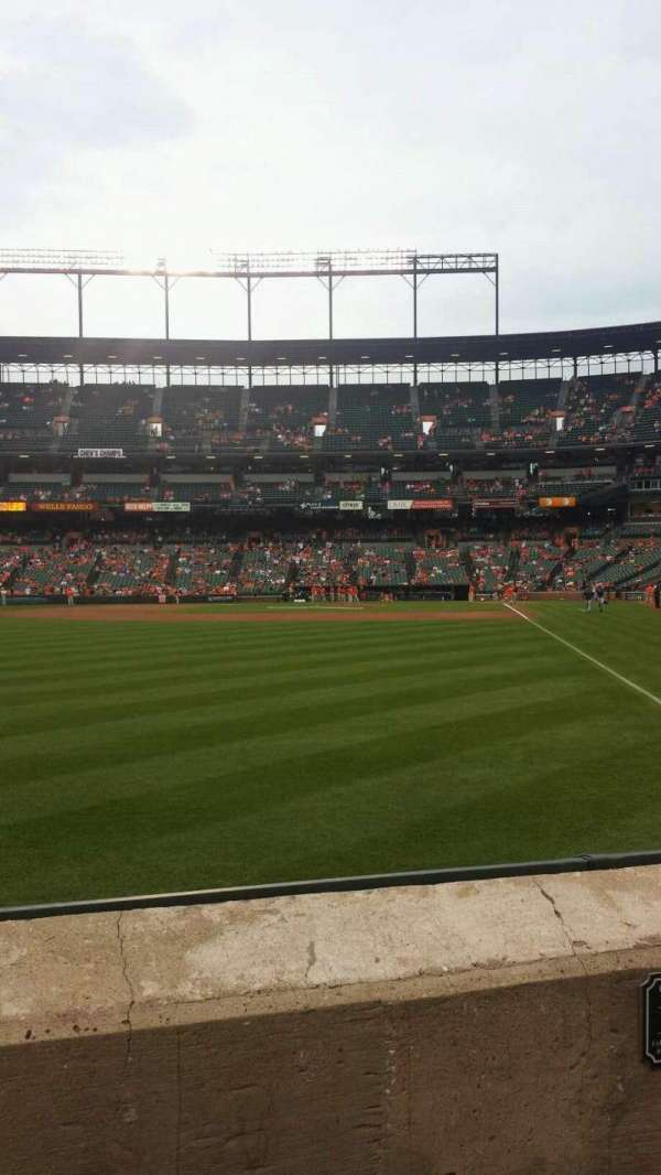 Oriole Park at Camden Yards, section: 74, row: 2, seat: 11-12