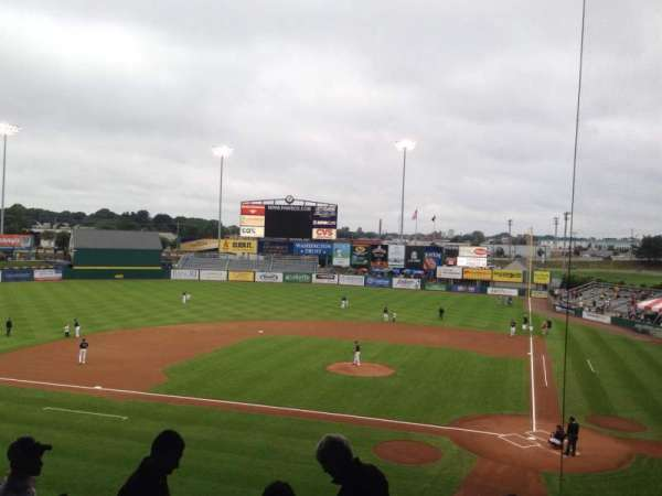 McCoy Stadium, section: 9, row: II, seat: 7