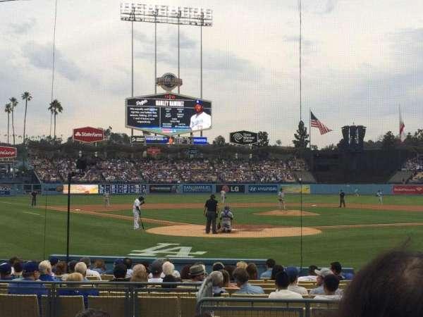 Dodger Stadium, section: 4FD, row: E, seat: 3