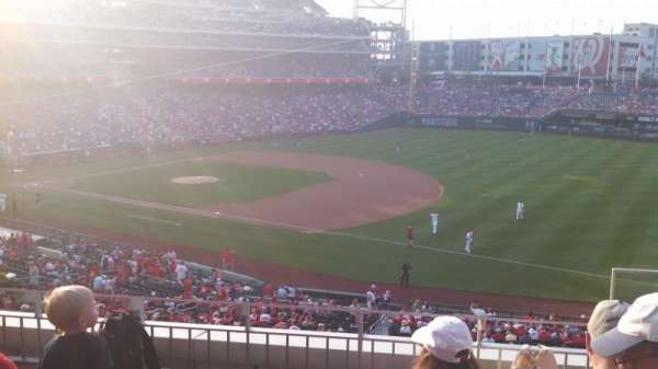 Nationals Park, section: 223, row: D, seat: 3