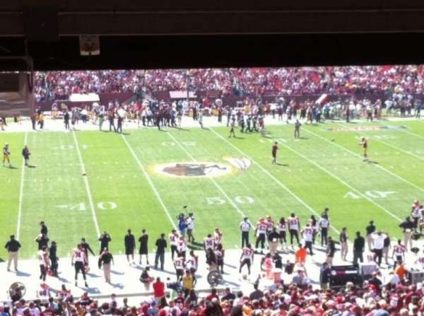 FedEx Field, section: 223, row: 17, seat: 1 and 2