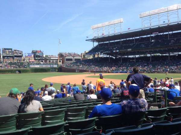 Wrigley Field, section: 108, row: 3, seat: 2