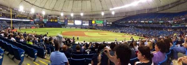 Tropicana Field, section: 117, row: AA