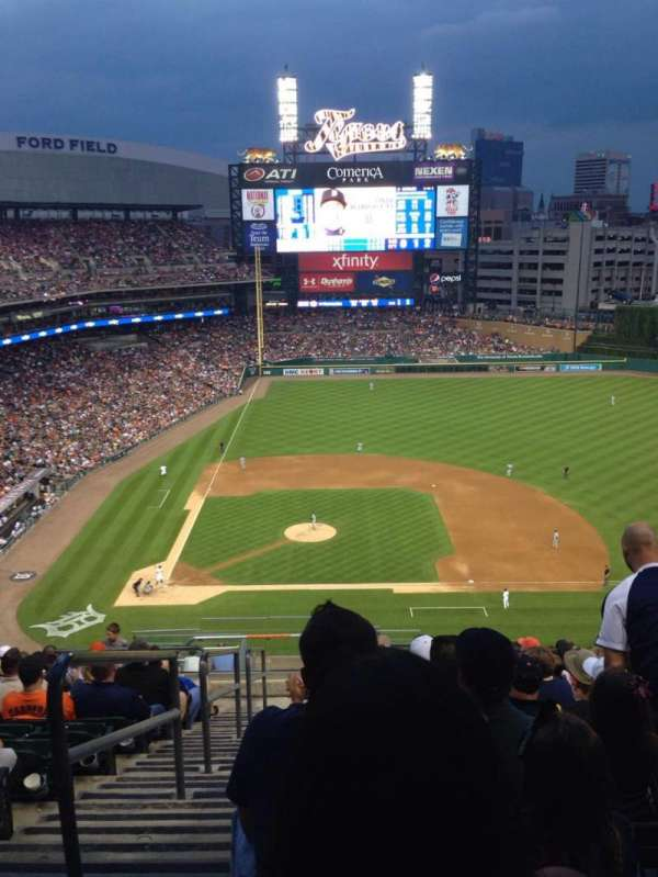 Comerica Park, section: 322, row: 16, seat: 24