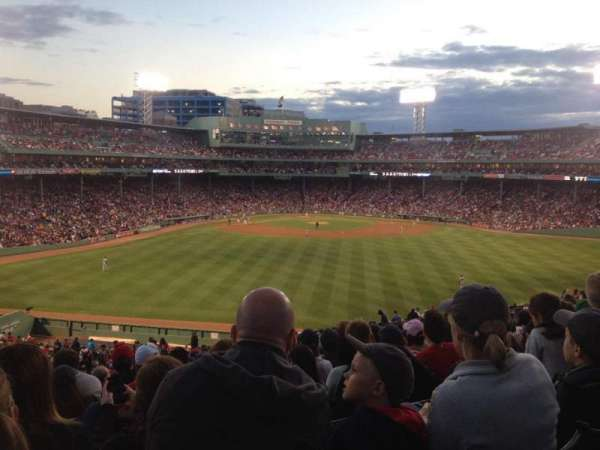 Fenway Park, section: Bleacher 38, row: 33, seat: 8