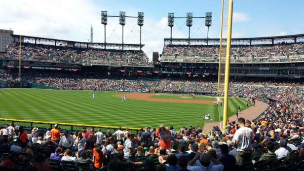 Comerica Park, section: 145, row: aa, seat: 15