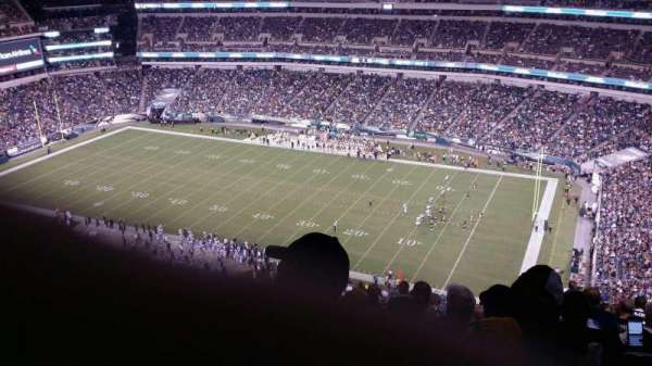 Lincoln Financial Field, section: 205, row: 26, seat: 12