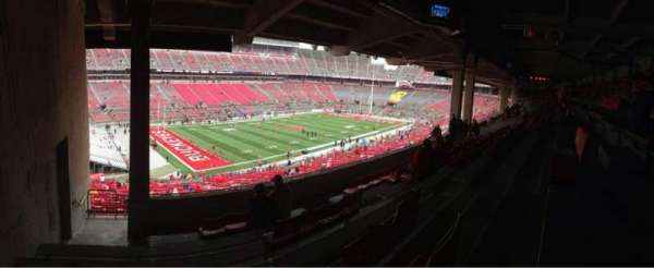 Ohio Stadium, section: 28B, row: 8, seat: 27