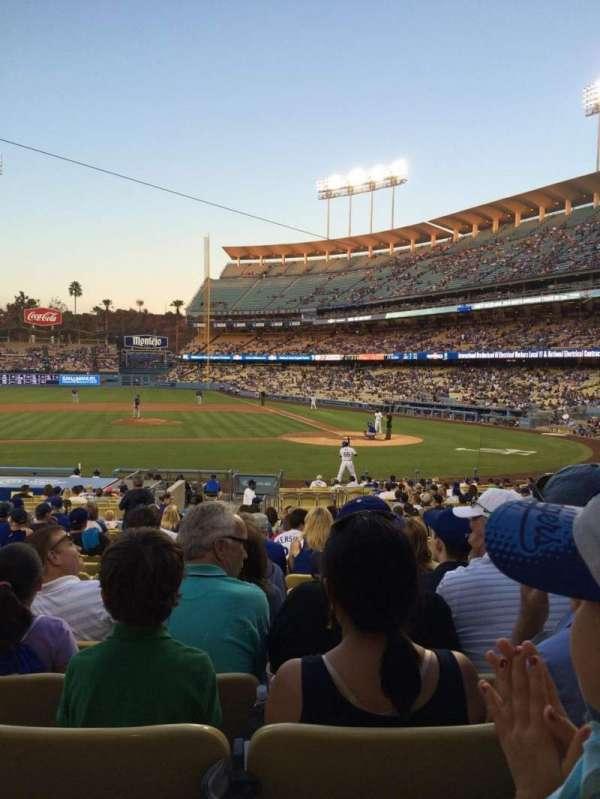 Dodger Stadium, section: 15FD, row: S, seat: 3