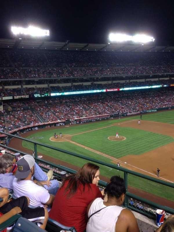 Angel Stadium, section: V427, row: C, seat: 22