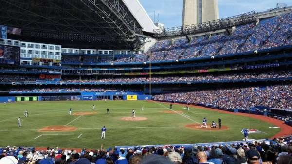 Rogers Centre, section: 226r, row: 32, seat: 6