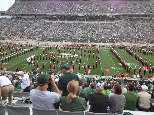 Spartan Stadium, section: 8, row: 44, seat: 13