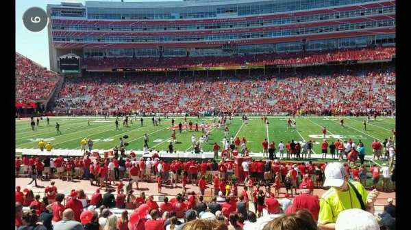 Memorial Stadium (Lincoln), section: 5, row: 15
