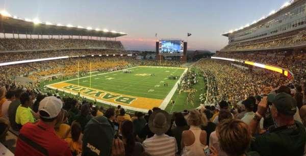 McLane Stadium, section: 313