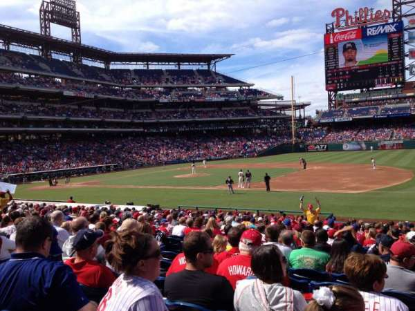 Citizens Bank Park, section: 114, row: 24, seat: 9