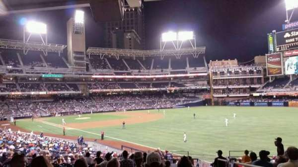 PETCO Park, section: 129, row: 10, seat: 7
