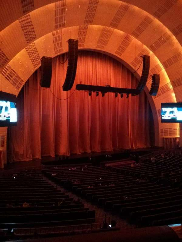 Radio City Music Hall, section: 1st mezzanine 7, row: BB, seat: 702