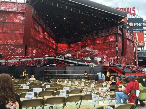 Nationals Park, section: Floor 6, row: S, seat: 5