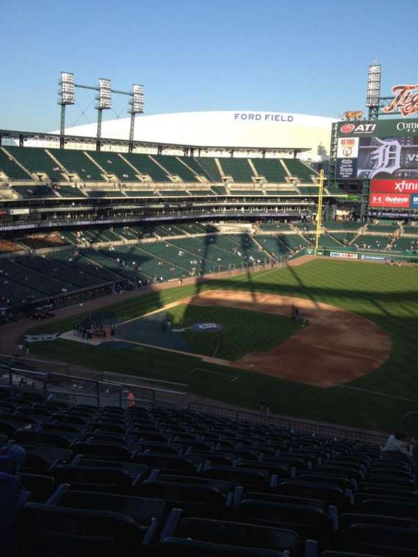 Comerica Park, section: 218, row: 15, seat: 12