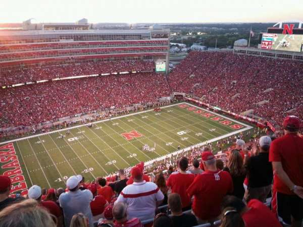 Memorial Stadium (Lincoln), section: 611, row: 15, seat: 7