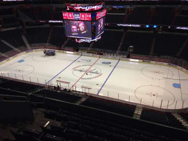 Capital One Arena, section: 419, row: H, seat: 8