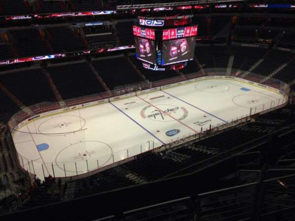 Capital One Arena, section: 431, row: J, seat: 10