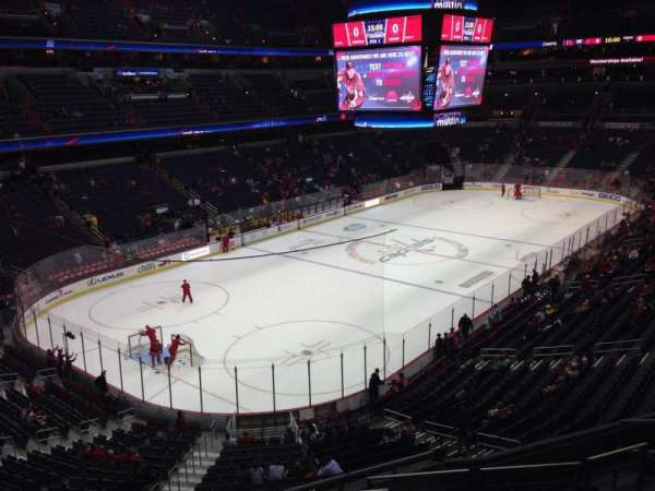 Capital One Arena, section: 210, row: H, seat: 5