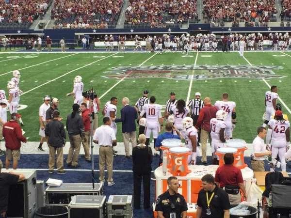 AT&T Stadium, section: C136, row: 4, seat: 19