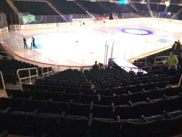 Bell MTS Place, section: 109, row: 16, seat:  21
