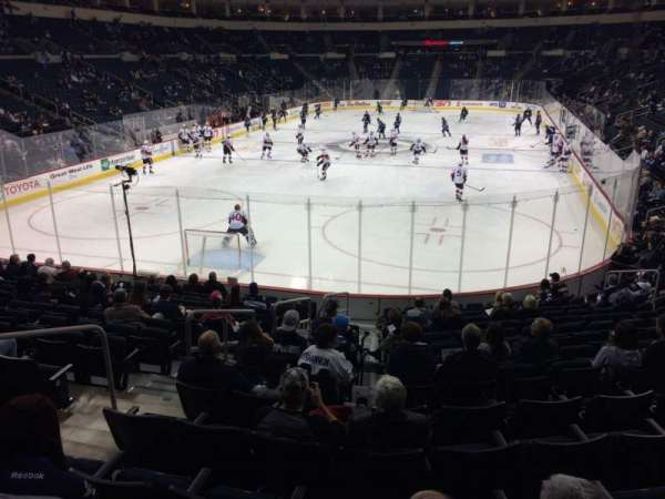 Bell MTS Place, section: 111, row: 14, seat: 22