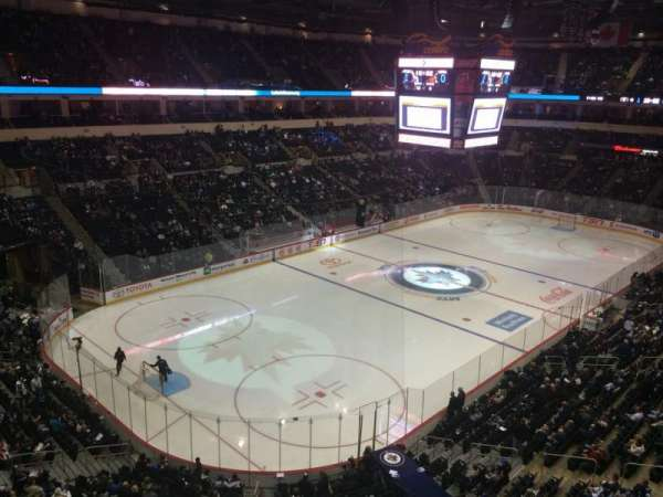 Bell MTS Place, section: 310, row: 1, seat: 6