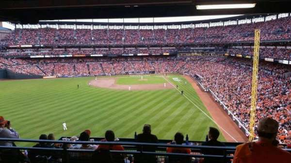 Oriole Park at Camden Yards, section: Suite