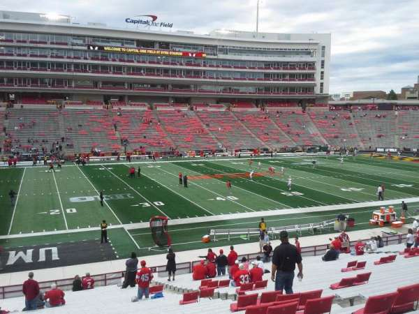 Maryland Stadium, section: 3, row: JJ, seat: 18-19