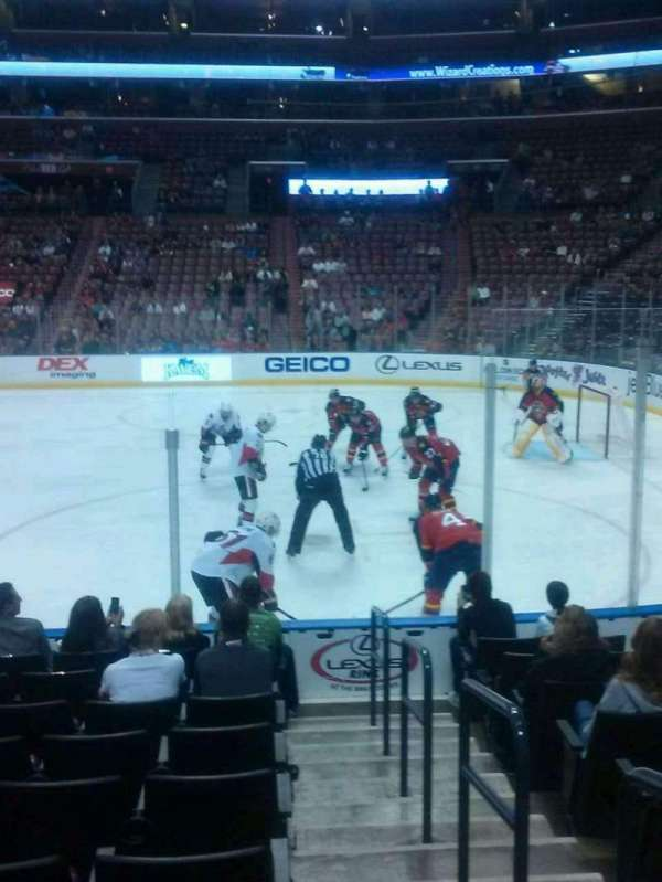 BB&T Center, section: 116, row: 10, seat: 1