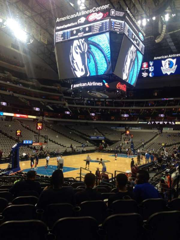American Airlines Center, section: 122, row: J, seat: 10