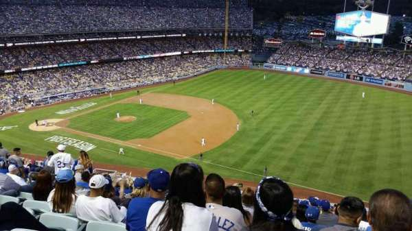 Dodger Stadium, section: 32RS, row: L, seat: 14
