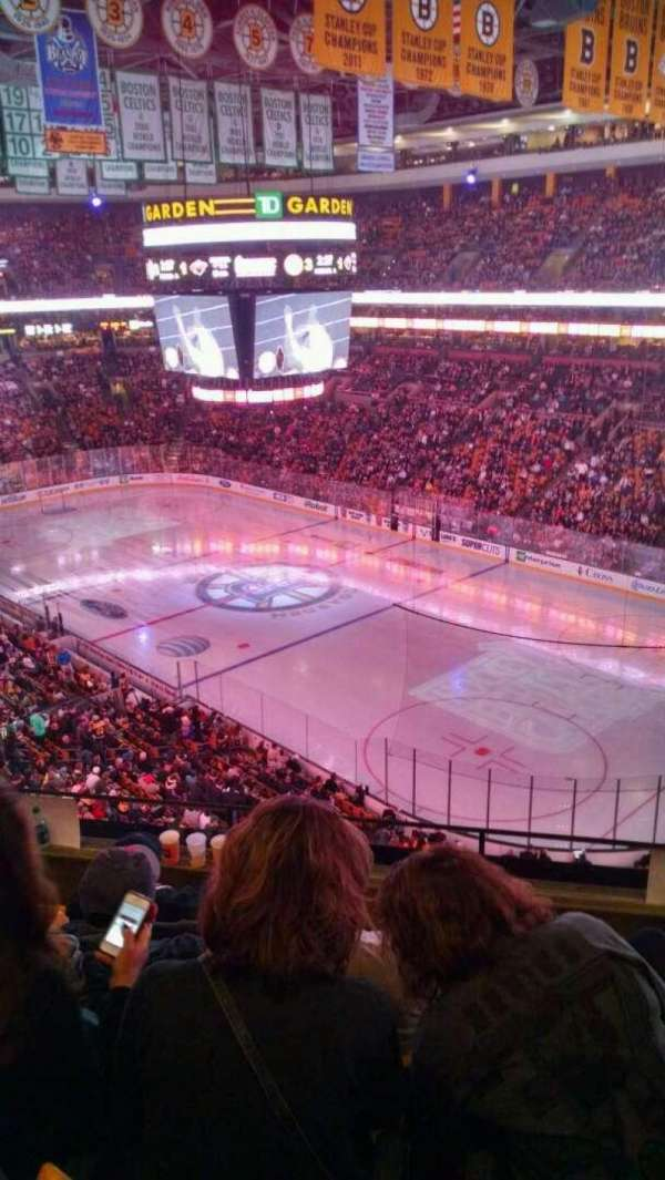 TD Garden, section: Bal 327, row: 5, seat: 7