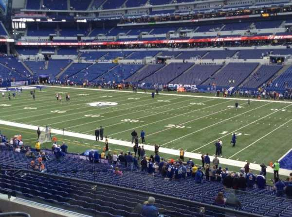 Lucas Oil Stadium, section: 235, row: 5, seat: 22 and 23