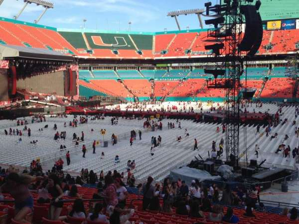Hard Rock Stadium, section: 154, row: 30, seat: 12