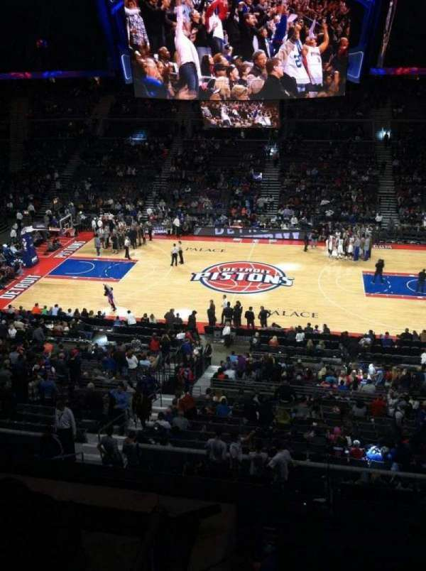 The Palace of Auburn Hills, section: 230, row: 2, seat: 9