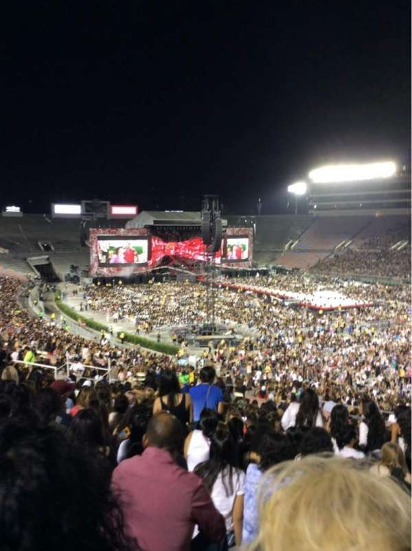 Rose Bowl, section: 9-L, row: 56, seat: 24