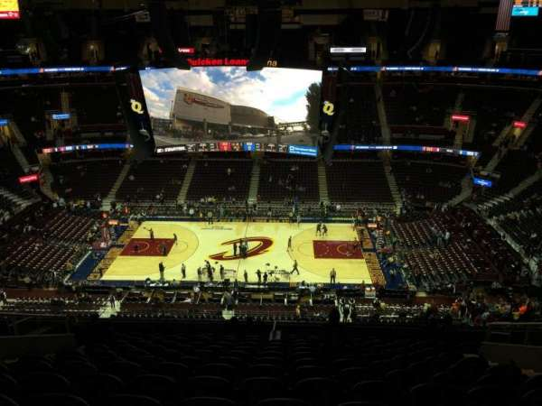 Quicken loans Arena, section: 226, row: 14, seat: 10