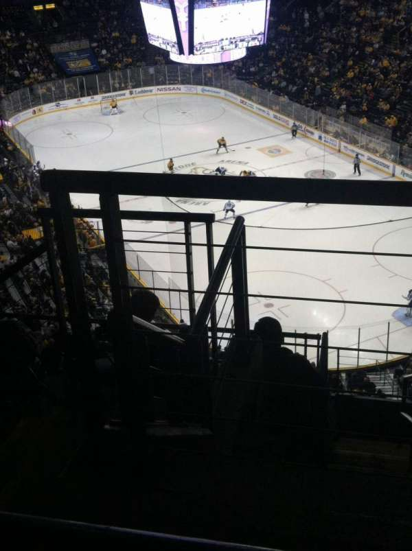 Bridgestone Arena, section: 331, row: J, seat: 1