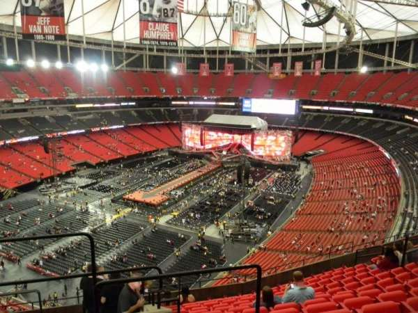 Georgia Dome, section: 303, row: 12, seat: 1