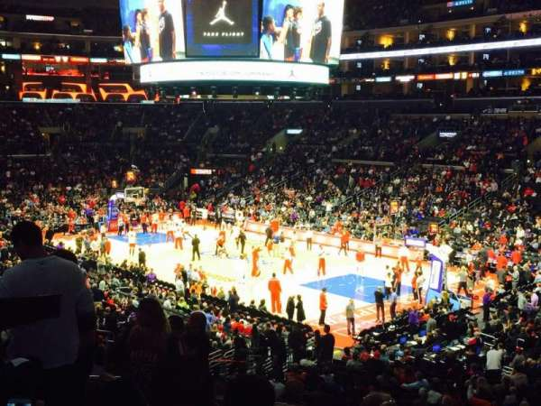 Staples Center, section: PR10, row: 10, seat: 9